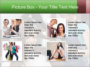 Female hairdresser PowerPoint Templates - Slide 14