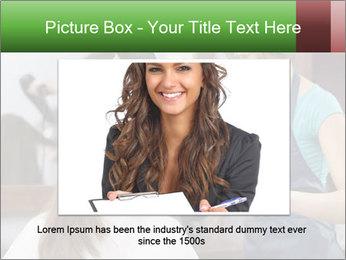 Female hairdresser PowerPoint Templates - Slide 16