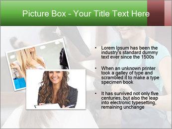 Female hairdresser PowerPoint Templates - Slide 20