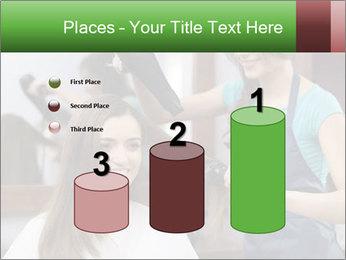 Female hairdresser PowerPoint Templates - Slide 65