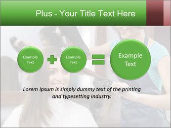 Female hairdresser PowerPoint Templates - Slide 75
