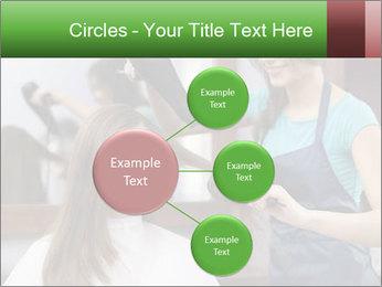 Female hairdresser PowerPoint Templates - Slide 79