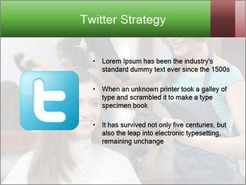 Female hairdresser PowerPoint Templates - Slide 9