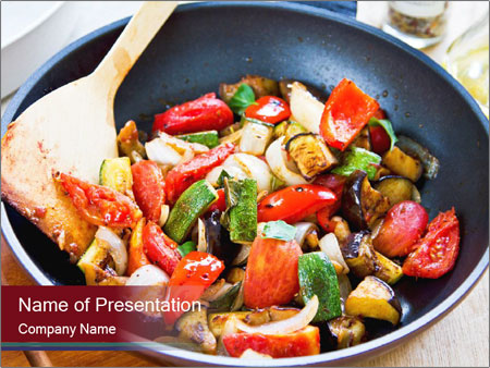 Vegetables PowerPoint Templates