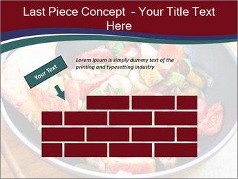 Vegetables PowerPoint Templates - Slide 46