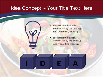 Vegetables PowerPoint Template - Slide 80