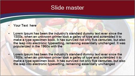 Vegetables PowerPoint Template - Slide 2