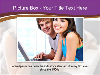 Worried Teenage Girl PowerPoint Template - Slide 15