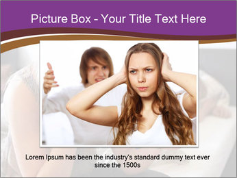 Worried Teenage Girl PowerPoint Template - Slide 16