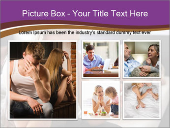 Worried Teenage Girl PowerPoint Template - Slide 19