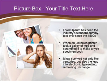 Worried Teenage Girl PowerPoint Template - Slide 20