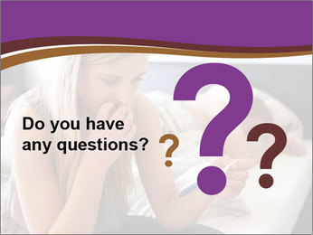 Worried Teenage Girl PowerPoint Template - Slide 96