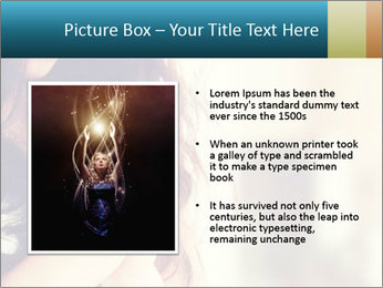 Woman praying PowerPoint Template - Slide 13