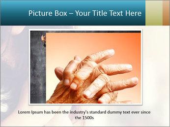Woman praying PowerPoint Templates - Slide 16