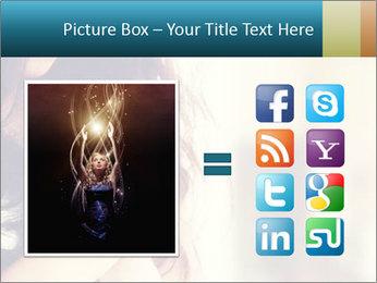 Woman praying PowerPoint Templates - Slide 21
