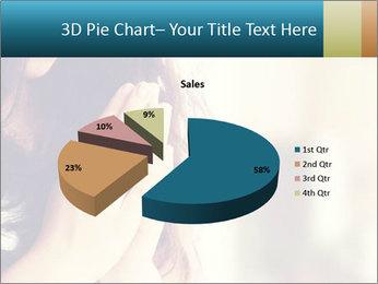 Woman praying PowerPoint Templates - Slide 35