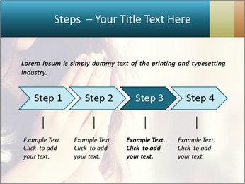 Woman praying PowerPoint Templates - Slide 4