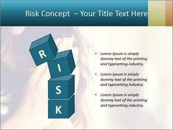 Woman praying PowerPoint Templates - Slide 81