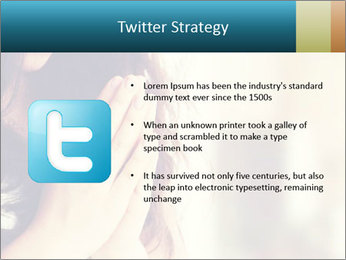 Woman praying PowerPoint Templates - Slide 9