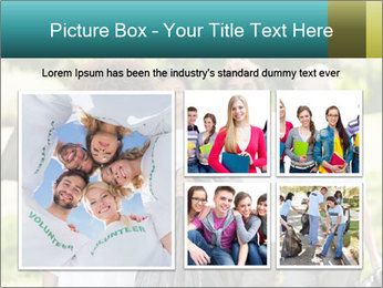 Team of volunteers PowerPoint Template - Slide 19