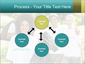 Team of volunteers PowerPoint Template - Slide 91