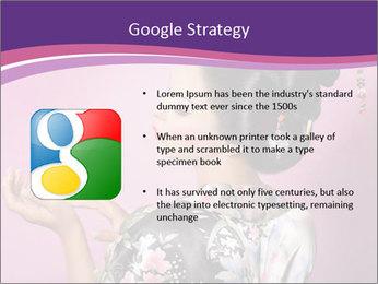 Japanese geisha PowerPoint Templates - Slide 10