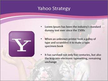 Japanese geisha PowerPoint Templates - Slide 11