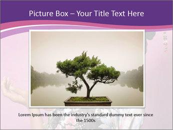 Japanese geisha PowerPoint Template - Slide 15