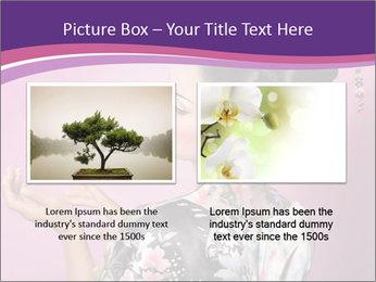 Japanese geisha PowerPoint Template - Slide 18