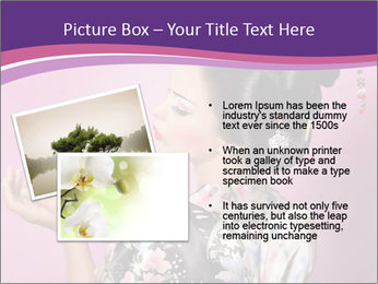 Japanese geisha PowerPoint Template - Slide 20
