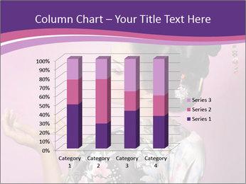 Japanese geisha PowerPoint Template - Slide 50