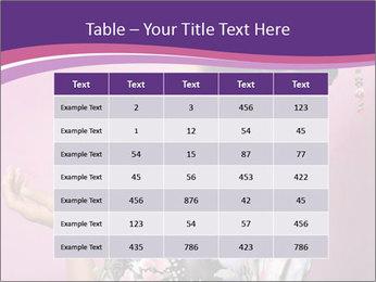 Japanese geisha PowerPoint Templates - Slide 55