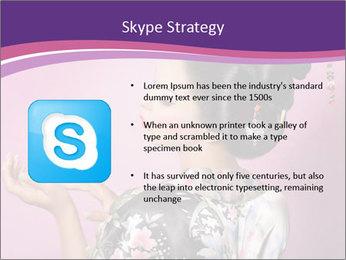 Japanese geisha PowerPoint Template - Slide 8
