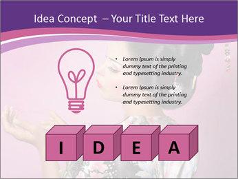 Japanese geisha PowerPoint Templates - Slide 80