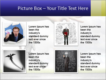 Funny image of businessman PowerPoint Template - Slide 14