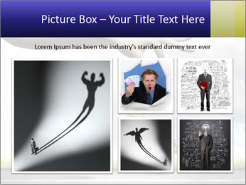 Funny image of businessman PowerPoint Template - Slide 19