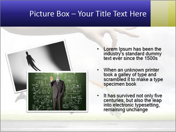 Funny image of businessman PowerPoint Template - Slide 20