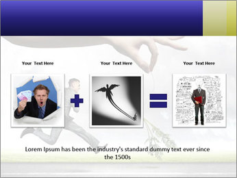 Funny image of businessman PowerPoint Template - Slide 22