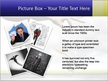Funny image of businessman PowerPoint Template - Slide 23