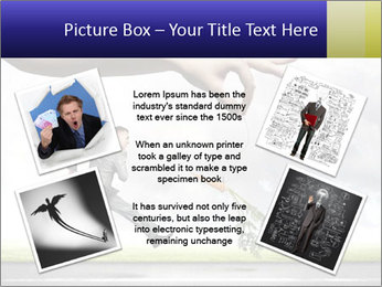Funny image of businessman PowerPoint Template - Slide 24
