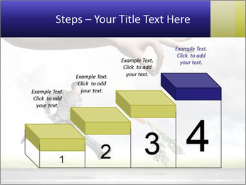Funny image of businessman PowerPoint Template - Slide 64