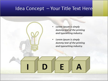 Funny image of businessman PowerPoint Template - Slide 80