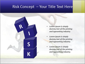 Funny image of businessman PowerPoint Template - Slide 81