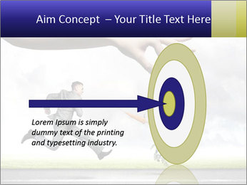 Funny image of businessman PowerPoint Template - Slide 83