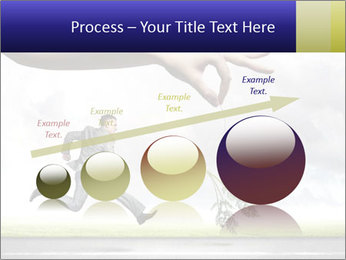 Funny image of businessman PowerPoint Template - Slide 87