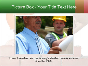 A bricklayer putting bricks PowerPoint Templates - Slide 15