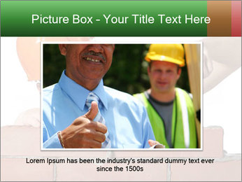 A bricklayer putting bricks PowerPoint Templates - Slide 16