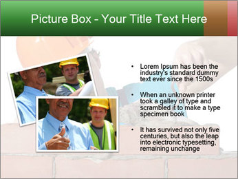 A bricklayer putting bricks PowerPoint Templates - Slide 20