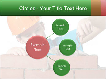 A bricklayer putting bricks PowerPoint Templates - Slide 79