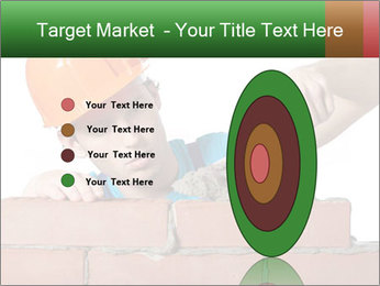 A bricklayer putting bricks PowerPoint Templates - Slide 84